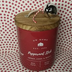 Brand new  DW HOME Peppermint stick scented candle